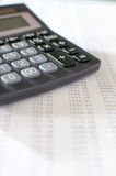 Bureau de comptabilité Image stock