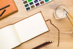 Bureau de concepteur Images stock