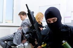 bureau de crime Images libres de droits