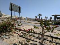 Bureau de désert Photos libres de droits