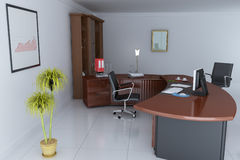 Bureau de gestionnaire illustration libre de droits