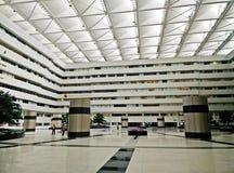 Bureau de gouvernement en Thaïlande avec un grand hall Images libres de droits