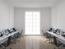 Bureau de l'espace ouvert Photo libre de droits