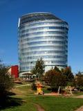 Bureau de la banque Barclays dans la ville de Vilnius Photos stock