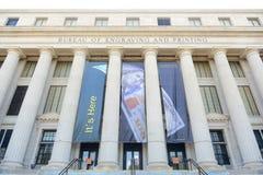 Bureau de la gravure et de l'impression, Washington DC, Etats-Unis photos libres de droits