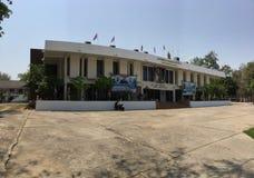 Bureau de la Thaïlande de 6h du matin de cavalerie Photos libres de droits