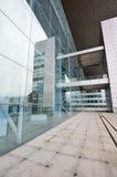Bureau de murs en verre Photos libres de droits