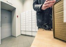 Bureau de poste Photo libre de droits