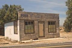 Bureau de poste abandonné Image libre de droits