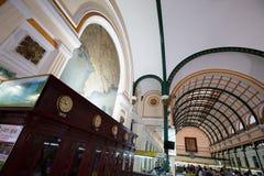 Bureau de poste central dans Saigon photographie stock libre de droits