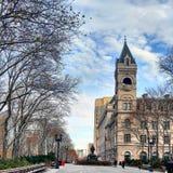 Bureau de poste de plaza de Brooklyn Cadman photos stock