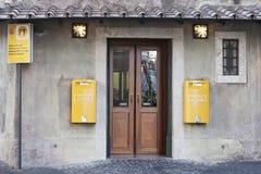 Bureau de poste de Vatican Image stock