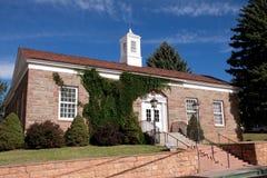 Bureau de poste en ressorts de Manitou, le Colorado Photos stock