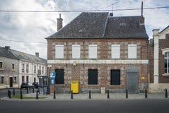 Bureau de poste français Images stock