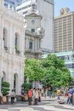 Bureau de poste général de Macao à la place de Senado images libres de droits
