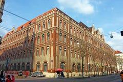 Bureau de poste général, Zagreb Image stock