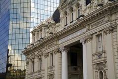 Bureau de poste principal, Santiago Image stock