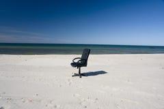 bureau de présidence de plage Images libres de droits