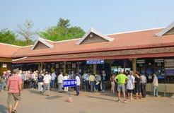 Bureau de réservation d'Angkor, Cambodge photos libres de droits