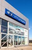 Bureau de revendeur officiel Hyundai Photo libre de droits