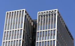 Bureau de Robeco à Rotterdam, Photos stock