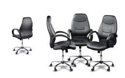 Bureau de stoelen die, één gaat samenkomen niet akkoord Royalty-vrije Stock Afbeelding