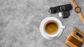 Bureau de travail d'indépendant Photo stock