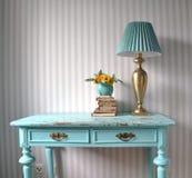 Bureau de turquoise Photo stock