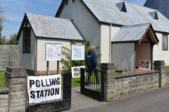 Bureau de vote Images stock