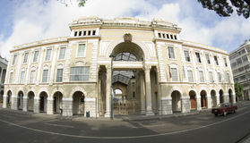 Bureau du gouvernement Guayaquil Equateur d'hôtel de ville Photographie stock libre de droits