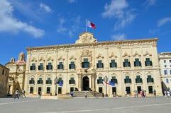 Bureau du premier ministre à Malte Photographie stock libre de droits