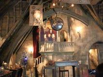 Bureau du ` s de Dumbledore dans le monde de Wizarding de Harry Potter photos stock