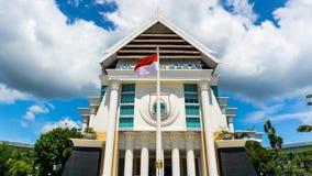 Bureau du ` s de gouverneur de la vue occidentale de Sulawesi de l'avant photos libres de droits