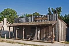 Bureau en jai van de oude het herstelde sheriff Stock Afbeelding