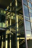 Bureau en verre buidling Image libre de droits