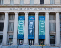Bureau of Engraving and Printing. The Bureau of Engraving and Printing (BEP) is a government agency within the United States Department of the Treasury that royalty free stock photo