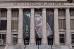 Bureau of Engraving and Printing Stock Photo