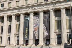 Bureau of Engraving and Printing Washington DC Royalty Free Stock Image