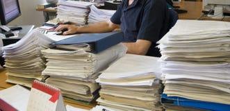Bureau extrawork Stock Foto's