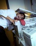 Bureau fou photographie stock libre de droits