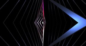 Bureau géométrique des triangles 4K de fond abstrait de papier peint illustration stock