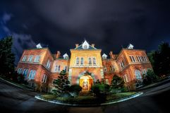Bureau gouvernemental du Hokkaido ancien Image stock