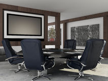 Bureau intérieur Image stock