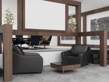 Bureau intérieur Images stock