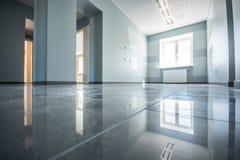 Bureau intérieur, constructions modernes Image stock