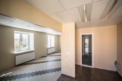Bureau intérieur, constructions modernes Photos libres de droits