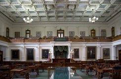 Bureau intérieur de législature d'État du Texas Images libres de droits