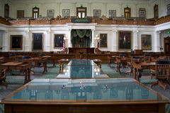 Bureau intérieur de législature d'État du Texas Photo stock