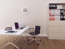 Bureau intérieur moderne Image stock