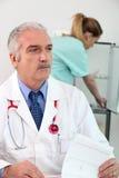 Bureau médical images libres de droits